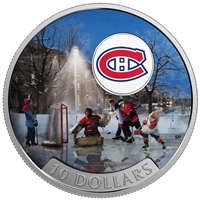 2017 $10 Passion to Play: Montreal Canadiens - Pure Silver Coin