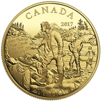 2017 $200 Great Canadian Explorers: Alexander Mackenzie - Pure Gold Coin