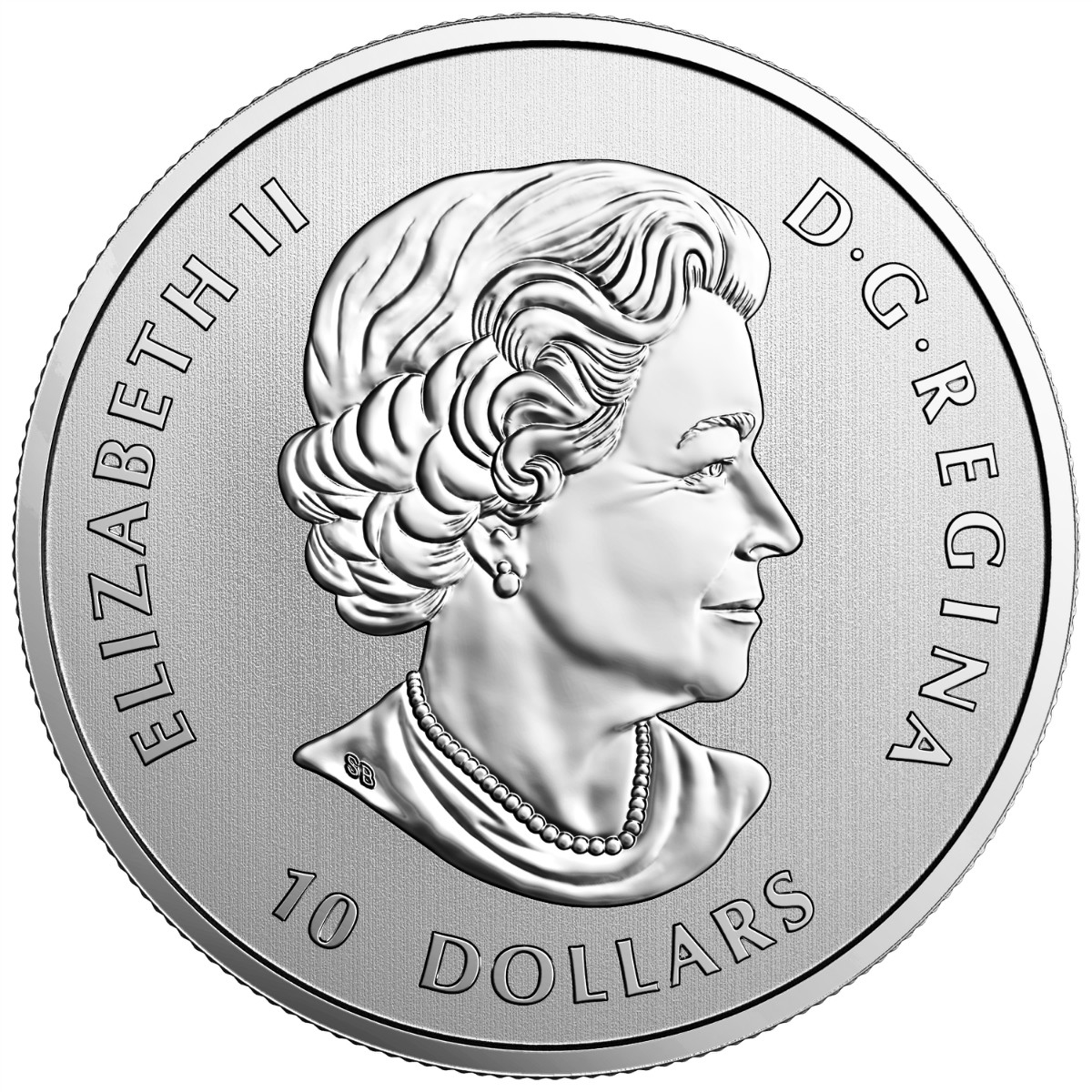 2017 $10 Maple Leaves - Pure Silver Coin