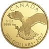 2017 $500 Peregrine Falcon - Pure Gold Coin
