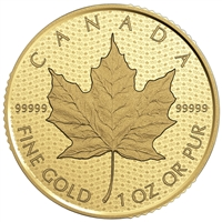 2017 $200 Canada 150: Iconic Maple Leaf - Pure Gold Coin