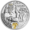 2017 $20 First World War: Battlefront Series - The Battle of Vimy Ridge - Pure Silver Coin