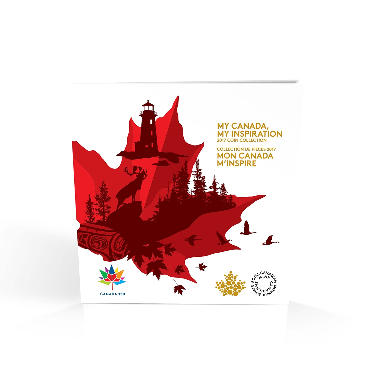 2017 MY CANADA,MY INSPIRATION COIN SET FROM ROYAL CANADIAN MINT