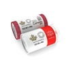 2017 50c Coat of Arms and Canada 150 Special Wrap Rolls - 2 Pack