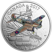 2017 $20 Aircraft of the Second World War: Avro Anson