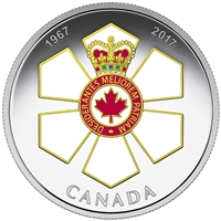 2017 $20 Canadian Honours: Order of Canada - Pure Silver Coin