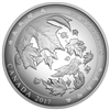 2017 $50 Maple Leaves in Motion - Pure Silver Convex Coin