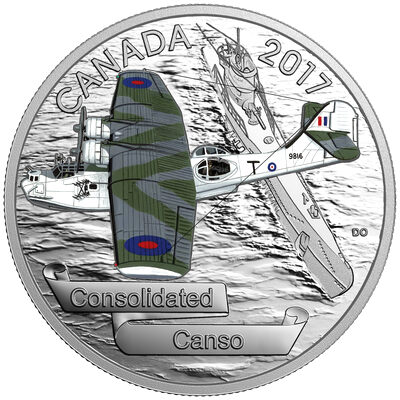 2017 $20 Aircraft of the Second World War: Consolidated Canso