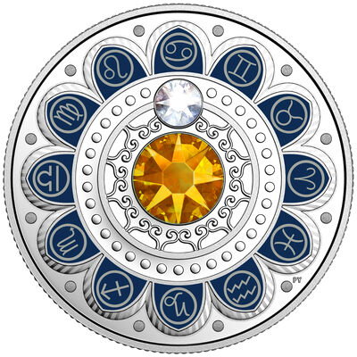 2017 $3 Zodiac Series: Cancer - Pure Silver Coin