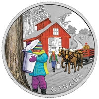 2017 $10 The Sugar Shack - Pure Silver Coin