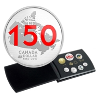 2017 Canada 150: Our Home and Native Land - Limited Edition Silver Dollar Proof Set