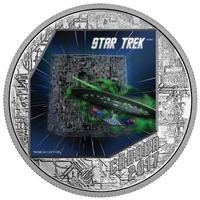 2017 $20 Star Trek: The Borg - Pure Silver Coin