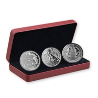 2017 RCM Lore: The Forgotten 1927 Designs - Pure Silver 3 Coin Set