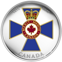 2017 $20 Canadian Honours: Order of Military Merit - Pure Silver Coin