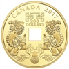 2017 $200 Feng Shui Good Luck Charms - Pure Gold Coin