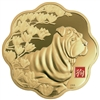 2018 $2500 Lunar Lotus: Year of the Dog - Pure Gold Coin