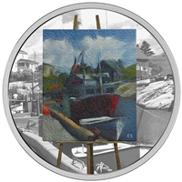2017 $20 En Plein Air: Maritime Memories - Pure Silver Coin