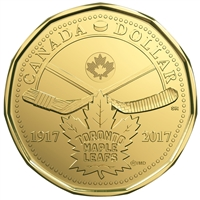 1917-2017 $1 100th Anniversary of Toronto Maple Leafs  -5 Coin Circulation Pack