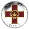 2017 $20 Canadian Honours: Cross of Valour - Pure Silver Coin