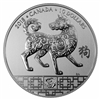 2018 $10 Year of the Dog - Pure Silver Coin