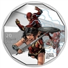 2018 $20 <i>The Justice League<sup>TM</sup>: The Flash</i> and <i>Wonder Woman</i> - Pure Silver Coin