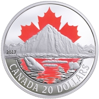 2017 $20 Canada's Coasts: Arctic Coast - Pure Silver Coin