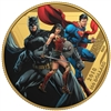 2018 $100 <i>The Justice League<sup>TM</sup></i>: United We Stand - 14-Karate Gold Coin