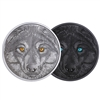 2017 $15 In the Eyes of the Wolf - Pure Silver Coin