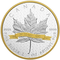 2018 $10 SML Tribute to 30 Years - Pure Silver Coin