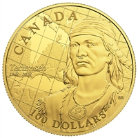 2018 $100 250th Anniversary of the Birth of Tecumseh - 14-Kart Gold Coin