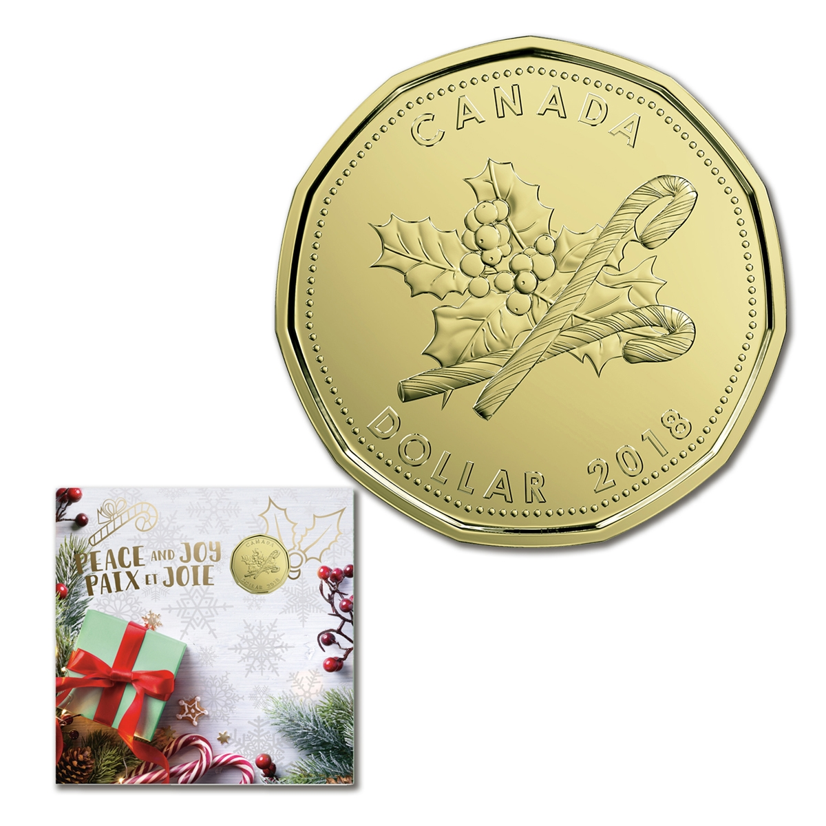2013 Canada Holiday Christmas Gift Coin Set Complete from the Mint