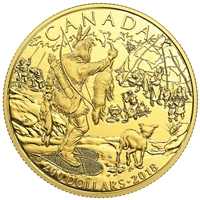 2018 $200 Early Canadian History : First Nations - Pure Gold Coin