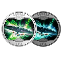 2018 $10 <i>Star Trek<sup>TM</sup>: The Next Generation</i> - Pure Silver Coin