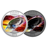 2018 $10 <i>Star Trek<sup>TM</sup>: Voyager</i> - Pure Silver Coin