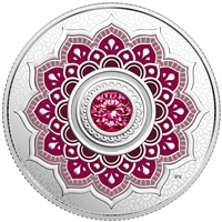 2018 $5 Birthstones : January - Pure Silver Coin
