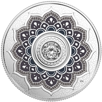 2018 $5Birthdaystones : April - Pure Silver Coin