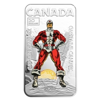 2018 $20 Captain Canuck - Pure Silver Coin