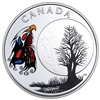 2018 $3 The Thirteen Teachings From Grandmother Moon : Spirit Moon - Pure Silver Coin
