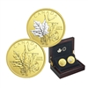 2018 $200 Enchanting Maple Leaves - Pure Gold 2-Coin Set