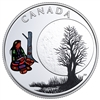 2018 $3 The Thirteen Teachings From Grandmother Moon : Sugar Moon - Pure Silver Coin