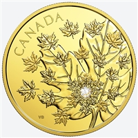 2018 $250 The Magnificent Maple - Pure Gold Coin