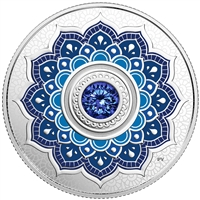 2018 $5Birthdaystones : September - Pure Silver Coin
