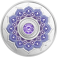 2018 $5Birthdaystones : December - Pure Silver Coin