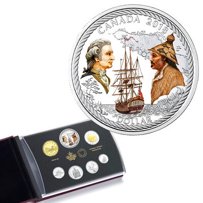 2018 Special Edition 240th Anniversary of Captain Cook at Nootka Sound Proof Set