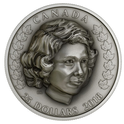 2018 $25 Her Majesty Queen Elizabeth II: The Young Princess - Pure Silver Coin