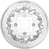 2018 $8 Good Luck Charms: Five Blessings - Pure Silver Coin
