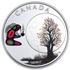 2018 $3 The Thirteen Teachings From Grandmother Moon : Falling Leaves Moon - Pure Silver Coin