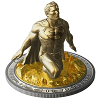 2018 $100 Superman: The Last Sonof Krypton - Pure Silver Coin