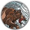 2018 $20 Canadian Mosaics: Grizzly Bear - Pure Silver Coin