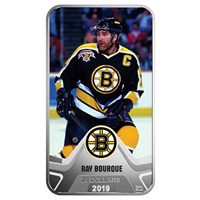 2019 $25 <i>Boston Bruins</i><sup>�</sup>: Ray Bourque - Pure Silver Coin